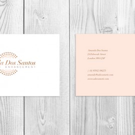 ADS Cosmetic Business Card
