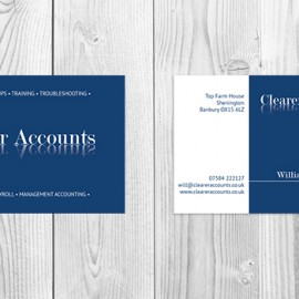 Clearer Accounts Business Card