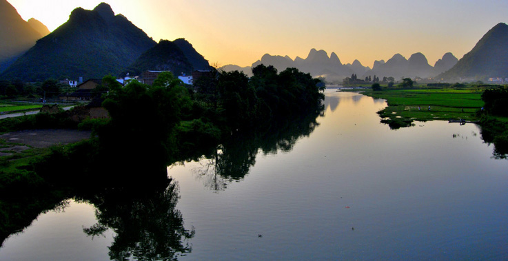 Moondance Boutique Resort, Yangshuo, China - One of our chosen hotels for the trip.
