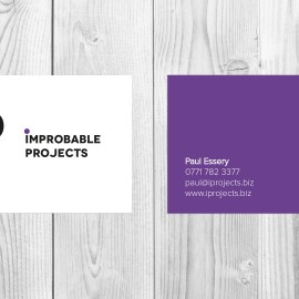 Improbable Projects Business Card