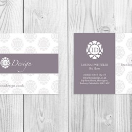 Ilona Design Business Card