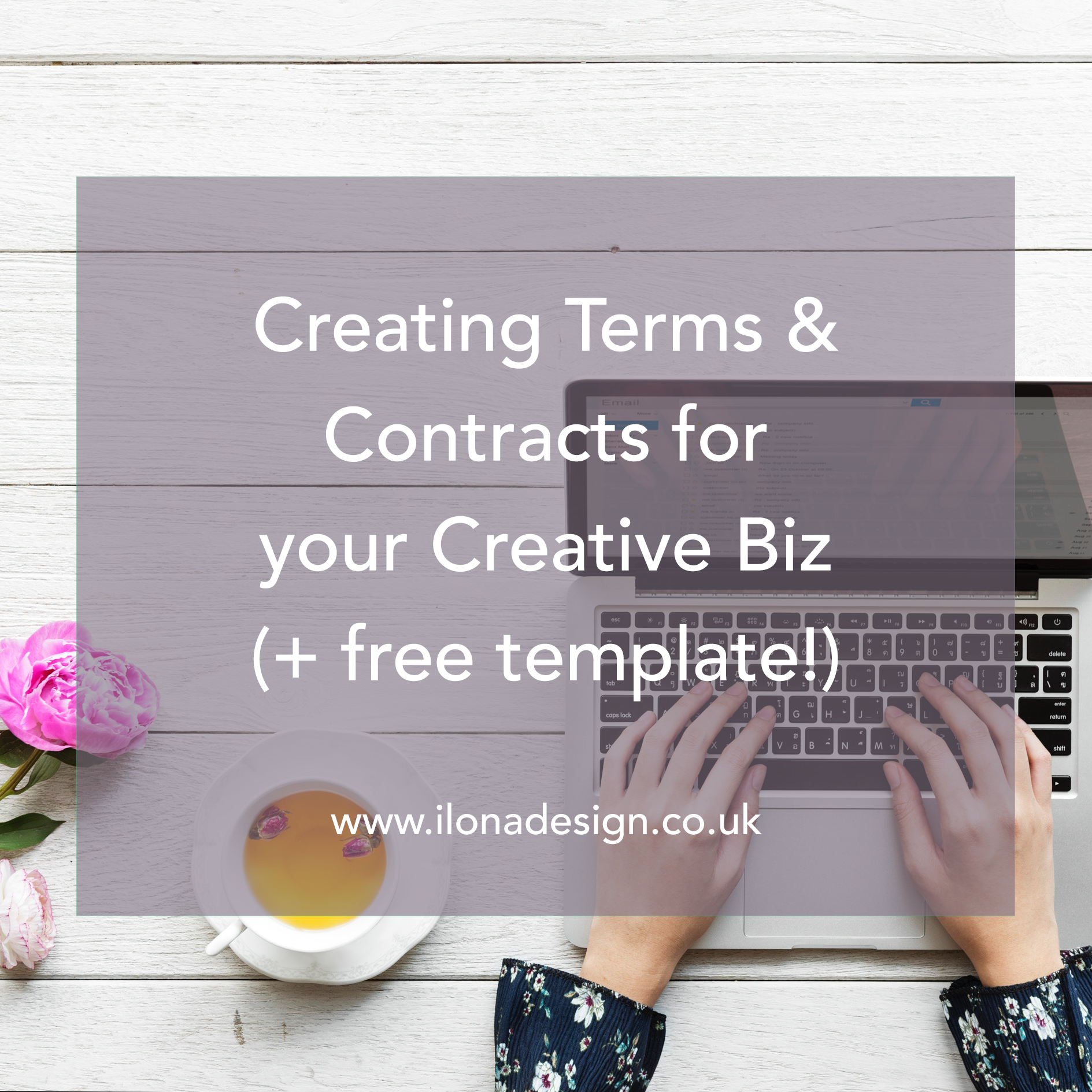 Creating Terms & Contracts for your Creative Biz (+ free template!)